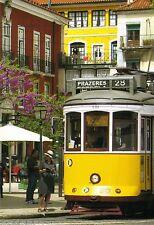 Ansichtskarte: Straßenbahn Lissabon Linie 28 - eletrico - in der Altstadt