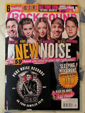 ROCK SOUND 6 Posters + Free CD NEW NOISE All Time Low BLACK VEIL BRIDES Sleeping