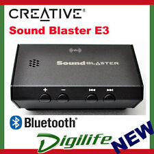 Creative Sound Blaster E3 Portable Bluetooth Headphone Amplifier HD USB