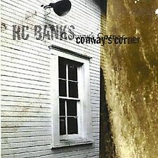 R. C. BANKS NEW, SEALED CD/CONWAY'S CORNER - TEXAS BLUES-ROOTS-ROCK MORE