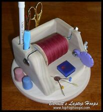 Thread Caddy / Sewing Storage Center / Notion Holder / fly fishing center