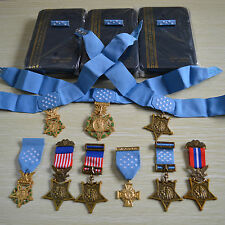 US ORDEN BADGE MEDAL OF HONOR, MOH, ARMY, NAVY, AIR FORCE, 9 ORDERS, RARE!!