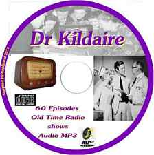 Dr Kildaire 60 OTR Old Time Radio Episodes Audio MP3 on CD