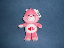 Care Bears Love A Lot NEW Anniversary Stuffed Plush Doll Toy Bear Pink Animal