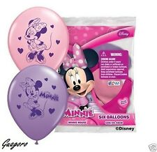 Disney  Minnie Mouse Birthday Favor Balloons Party Supplies Decorations Prizes