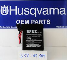 Husqvarna OEM 532189589 - 12 Volt Battery also fits Poulan  AYP   189589