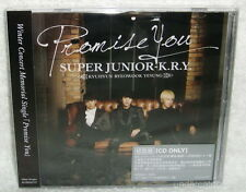 SUPER JUNIOR K.R.Y Promise You Taiwan Ltd CD only+ trading card