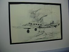 Delta Airlines Lockheed Electra Model 10 1936  from Delta Hdqters by Artist