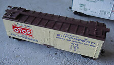Vintage 1970s HO Scale Otoe Food Products Box Car OFPX 4006
