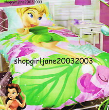 Disney Fairies Tinkerbell I am Tink -Single/Twin Bed Quilt Doona Duvet Cover Set