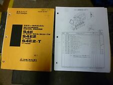 Mitsubishi BD2F  Engine PARTS manual S4E