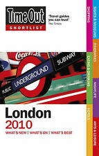 Time Out Shortlist London 2010, Time Out Guides Ltd