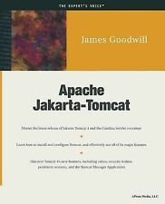 Apache Jakarta-Tomcat by James Goodwill (2001, Paperback, New Edition)