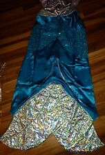 NWT DISNEY ARIEL THE LITTLE MERMAID ADULT COSTUME ADULT SIZE S