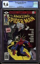 Amazing Spider-Man # 194 CGC 9.6 White pages 1st appearance of Black Cat