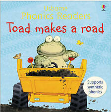 Toad Makes A Road,   Usborne Phonics Reader,    By Cox & Cartwright,     GC~P/B