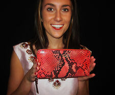 KATE SPADE New York Bedford Park Snakeskin Lacey pink/red/black Wallet