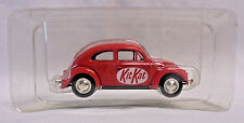 "Corgi Promo VW Beetle Bug Red ""Kit Kat"" Car 1:43 New in Plastic"