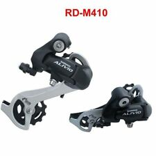 Shimano Alivio RD-M410 7/8Speed Rear Derailleur Long Cage For MTB Bike Black