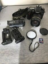 Nikon D D7000 16.2MP Digital SLR Camera - Black w tamaron 18-200 FREE SHIPPING