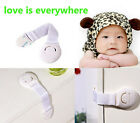 10pcs Cabinet Door Drawers Toilet Safety Plastic Lock For Child Kid baby safety