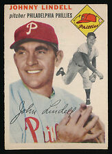 1954 Topps #51 Johnny Lindell - Philadelphia Phillies - EX - (C01)