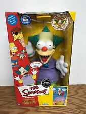 The Simpsons Bart's Krusty the Clown Talking Doll Playmates Good/Evil