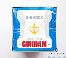 Gundam G-SHOCK 35th Anniversary Limited collaboration DW-6900 japan White