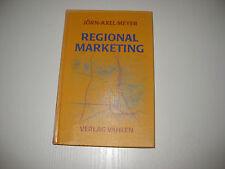 Regionalmarketing von Jörn-Axel Meyer  (1999)