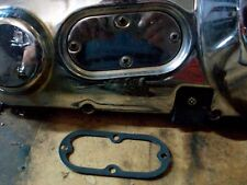 HARLEY 4 speed , Softail , Dyna  INSPECTION COVER ON PRIMARY GASKET ALUMIN CENT.