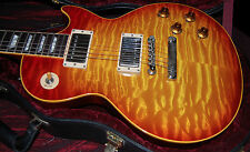 2000 Gibson Les Paul Killer Quilt 1959 Reissue Frank Hannon of Tesla Owned RARE!