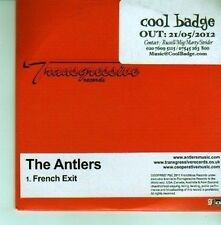 (DA12) The Antlers, French Exit - 2012 DJ CD