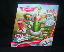 Disney Planes Action Shifters Fill and Fly Station NEW