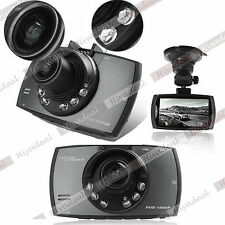 "HD 1080P Auto Car DVR Camera GPS Video Recorder 2.7"" LCD Vehicle 6 LED"