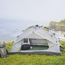 Lightweight 2 Person Tent Double Layer Waterproof Camping Hiking Backpack Size
