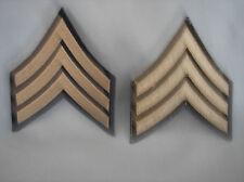 REPLICA U. S. ARMY WWII/KOREAN WAR ERA SERGEANT CHEVRONS