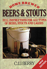 Home Brewed Beers and Stouts by C. J. J. Berry, Roy Elkins (Paperback, 1998)
