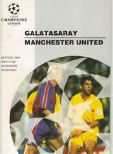 1994/95     Galatasaray    v    Manchester United      Excellent