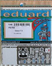 Eduard 1/48 FE765 Colour Zoom etch for the Airfix Gloster Meteor F.8 Kit