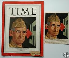 Time Magazine, May 1, 1944 & Listing from Life Magazine, Dec. 1, 1944...