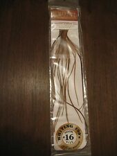 Fly Tying Whiting 100's Saddle Hackle Brown sz#16
