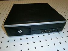 HP Elite 8300 Ultra-Slim Desktop Intel i3-2120 4GB RAM 500GB ATI Radeon 512mb