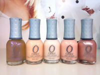 Orly Nail Polish Wedding Collection Pretty Pink, Nude, Glitter, Pearl 18ml