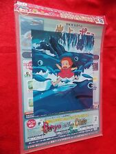 PONYO A4 Size FILE FOLDER D / LAWSON JAPAN LIMITED / GHIBLI / UK DESPATCH