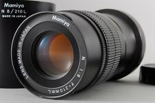 【AB Exc+】 Mamiya N 210mm f/8 L MF Lens for Mamiya 7 7II w/Hood From JAPAN #2378
