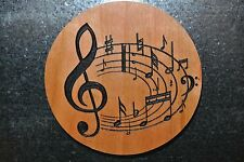 Music Notes Magnet Cherry Refrigerator Magnet American Made/ Homemade