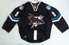 RARE KOHO AUTHENTIC CENTER ICE SAN JOSE SHARKS #9 ADAM GRAVES JERSEY IN SIZE 52