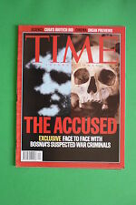 TIME rivista magazine MAY 13 1996 THE ACCUSED EXCLUSIVE BOSNIA CUBA BIOTECH BID