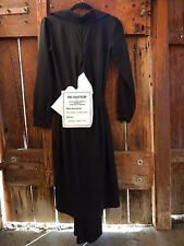 H&M X MAISON MARTIN MARGIELA BLK ASYMMETRICAL DRESS NWT NEW SZ 2 BUTTON UP MAXI