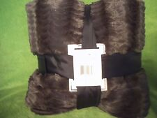 KING MINK fur (faux) Blanket LINED! or Queen long- Mink coat feel! SALE!